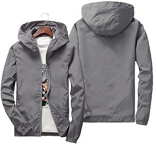9e1c6c0eb6a5 Amazon.com: Greys - Windbreakers / Lightweight Jackets: Clothing ...