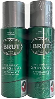 Brut Assorted Deodorant Spray, 2 x 200 ml