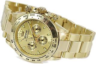 RussiangoldCom - reloj de los hombres del oro amarillo italiano (rosa soviética rusa) Geneve mw014 - mw014