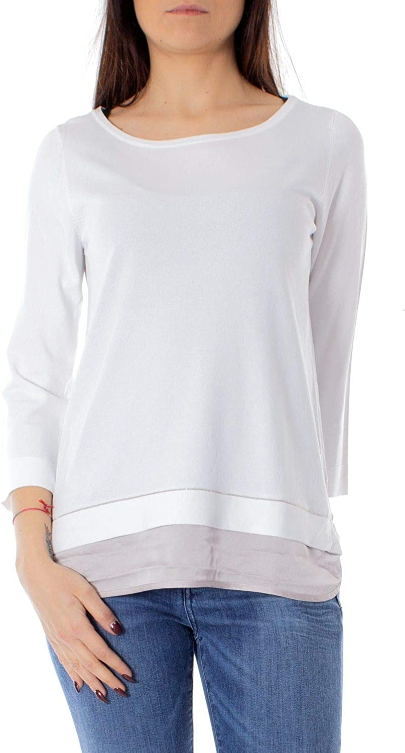 Anis Collection Milano Women's 931051WHITE White Viscose Jumper