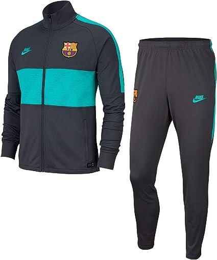 envase Brillante Golpe fuerte  NIKE FC Barcelona Strike Chándal, Hombre, Dk Smoke Grey/Cabana, L:  Amazon.es: Deportes y aire libre