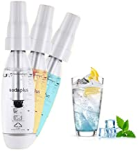 HXZB Soda Maker Distributeur d'eau, Jus De Bricolage Accueil Bubble Fruits Gazéifiée Sain Boissons Machine, 1L Bouteille P...