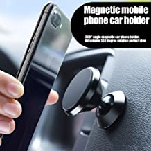Magnetic Car Mount Holder, Manords Universal Stylish 360°Rotation Car Phone Mount, Adjustable Dashboard Mount, Compact Phone Holder for iPhoneX/8/7/7Plus/6s/Samsung Galaxy S8/S7/S6 and More