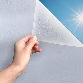 MARAPON, Pellicola Protettiva per finestre, autoadesiva, Vetro Satinato, Opaco, PVC, Opaco, 90 x 200 cm (Matt, 45 x 200 cm)