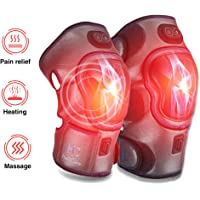 HailiCare Heated Vibration Knee Massager with 3 Level Heat/vibration Settings