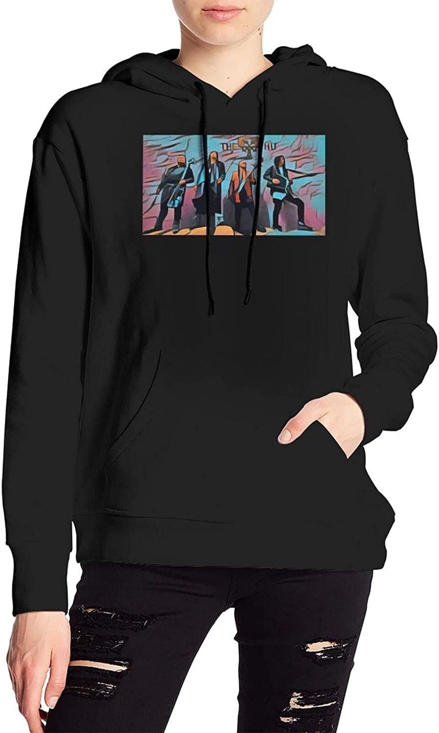 The Hu Band Sweater Novelty Hooded With Pocket For Men'S Women