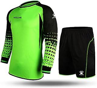 Kelme Football Goalkeeper Long-Sleeve Suit Soccer Jersey Set 4cc2332f7