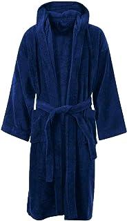 Rimi Hanger Mens 100% Cotton Toweling Bath Robe Adults Night Wear Gown Dressing Bathrobe