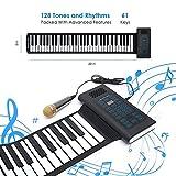 [Igloo Essentials] [Igloo Essentials Roll Up Piano Folding Portable Keyboard   61Keys   Music Gifts for Women Men Girl Boys Kids   Educational Toys Gift Set   Digital Beginner Piano] (並行輸入品)