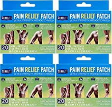 Coralite Pain Relief Patches for Minor Muscle & Joint Aches, 4-pk (Total 80 Patches)