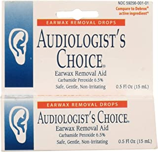 Audiologist's Choice Ear Wax Removal aid Solution