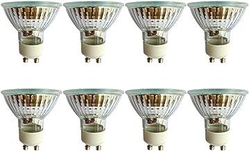 Halogeenspots GU10 50W dimbaar, 2800K warmwit, 550lm, 36° stralingshoek, plafondlamp downlight lampen voor badkamer woonka...