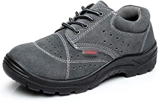 SHANLEE Labor Insurance Shoes Men's Casual Non-Slip Smash-Proof Breathable Safety Shoes