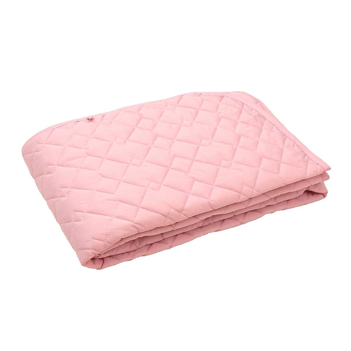 確執慈善大きさ西川リビング 敷きパッド ピンク 100×205cm 洗える ひんやり CP-1440 2072-44088