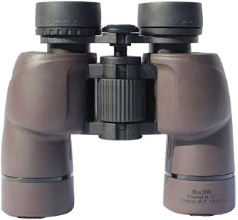 RUXMY Telescopio para Viajar, Caza, observación de Aves al Aire Libre, monoculares para Adultos, observación de Aves, telescopio de observación de Aves, binoculares Impermeables 8x36 Porro -