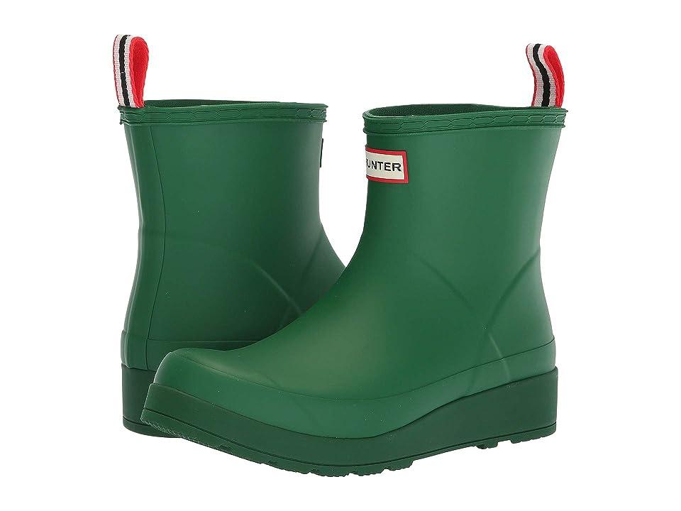 Hunter Original Play Boot Short Rain Boots (Hyper Green) Women