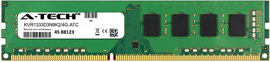 A-Tech 2GB Replacement for Kingston KVR1333D3N9K2/4G - DDR3 1333MHz PC3-10600 Non ECC DIMM 2rx8 1.5v - Single Desktop & Workstation Memory Ram Stick (KVR1333D3N9K2/4G-ATC)