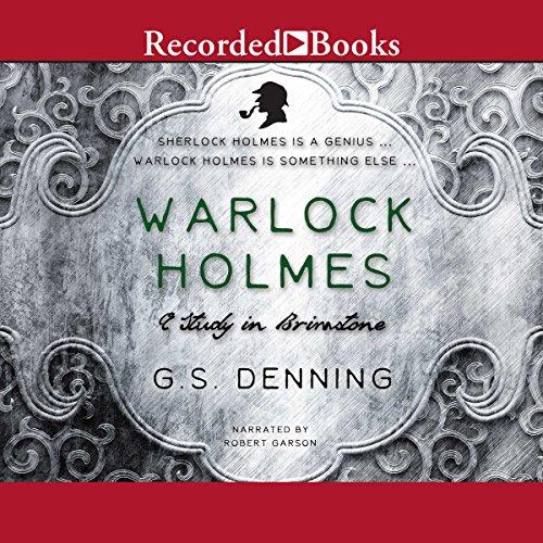Warlock Holmes audiobook cover art