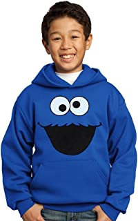 Sesame Street Cookie Monster Face Youth Hoodie