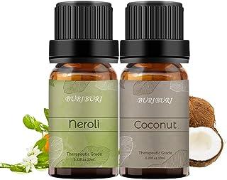 BURIBURI Coconut Neroli Essential Oil, 100% Pure Therapeutic Grade Oil for Diffuser, Massage