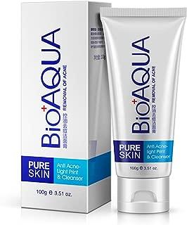 BIOAQUA Skin Care Acne Face Treatment Removal Cleanser Cream Spots Scar Blemish Mark 100g