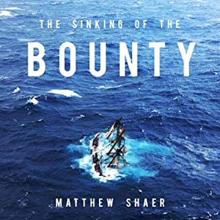 The Sinking of the Bounty audiobook cover art