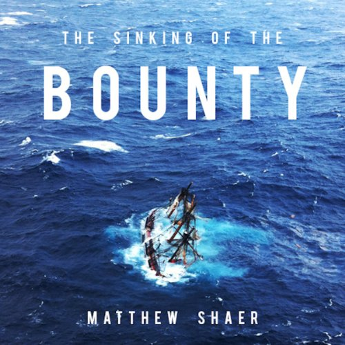 The Sinking of the Bounty cover art