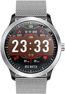 Rastreadores De Fitness, Pantalla Táctil Pulgadas Reloj Inteligente Ip67 Impermeable Reloj Pulsómetro Presión Arterial Monitor De Sueño Calorías Reloj Contador De Pasos