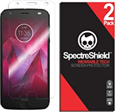 Spectre Shield (2 Pack) Screen Protector for Moto Z2 Force Accessory Moto Z2 Force Case Friendly Full Coverage Clear Film