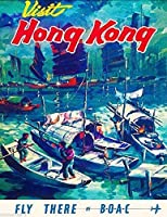 かわいらしい装飾香港中国中国アジアアジアンレトロメタルウォールデコレーションアートショップマンケーブバーガレージ私有財産用アルミサイン、屋外危険サイン