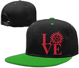 Adgjhbvn Unisex Boys and Girls Baseball Cap Love Hunting - Supernatural Cotton Trucker Hat Gorras de Hip Hop de béisbol