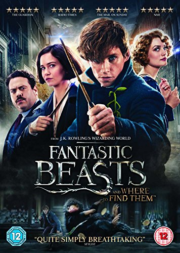 Fantastic Beasts and Where To Find Them [DVD] [2016]