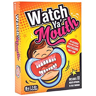Watch Ya Mouth Family Edition - The Authentic, Hilarious, Mouthguard Party Card Game