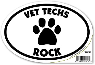 Pet Gifts USA Vet Techs Rock Magnet