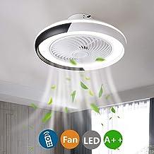 Amazon.es: lampara de techo led dormitorio ventilador