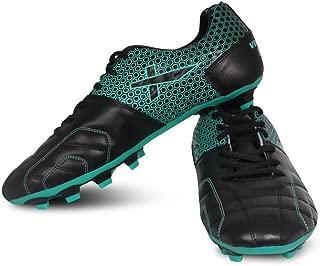 Vector X Breeze Football Shoes (Black-Sea Green)