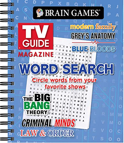 Brain Games - TV Guide Magazine Word Search