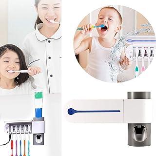 Meteorax Custodia igienizzante per spazzolino da denti con luce ultravioletta montaggio a parete