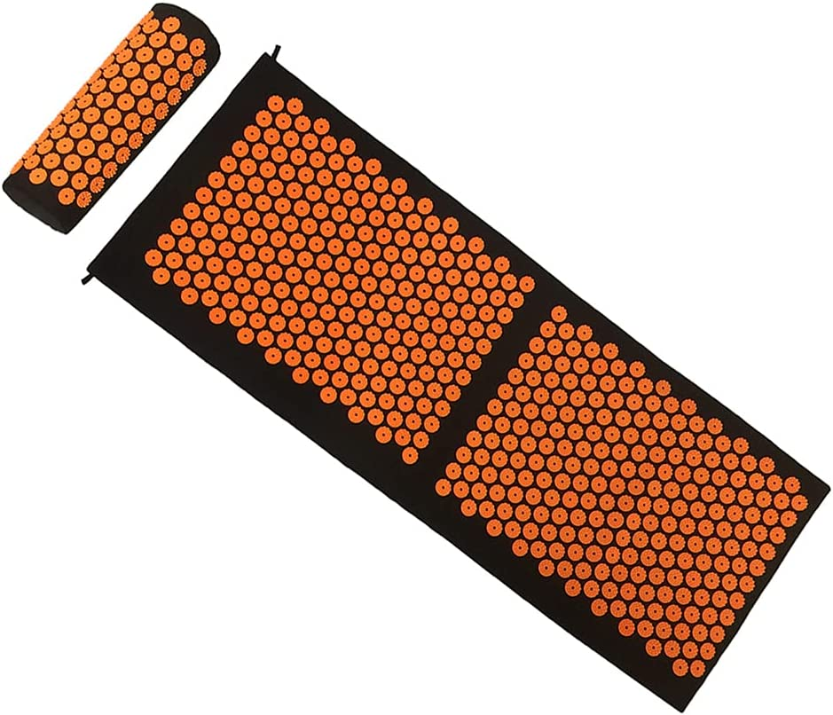 LFF MASSAGE Acupressure Mat and Acu Pillow New mail order Wellness Set OFFicial shop Therapy