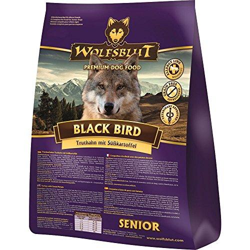 Wolfsblut | Black Bird Senior | 500 g | Truthahn | Trockenfutter | Hundefutter | Getreidefrei