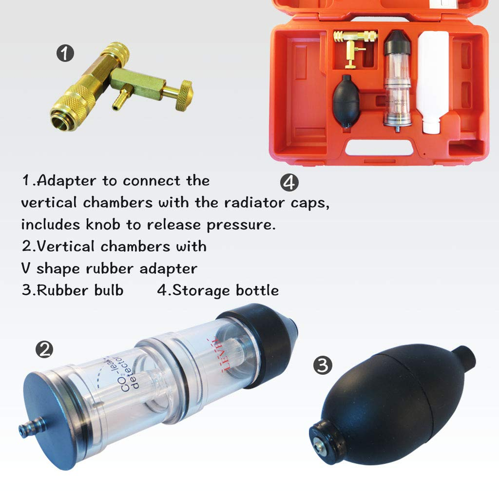 FIRSTINFO Combustion Gas Leak Detector