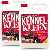 Pro-Kleen Kennel Disinfectant, Cleaner & Deodoriser (Cherry Fragrance) - 10L Pack - Tested according to DVG (German Veterinary Medical Society)