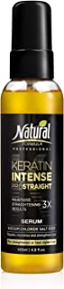 Natural Formula Keratin Intense Hair Serum – Keratin Infused Dry Damaged Hair Serum - Sodium Chloride Salt-Free Keratin Ha...