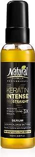 Natural Formula Keratin Intense Hair Serum – Keratin Infused Dry Damaged Hair Serum - Sodium Chloride Salt-Free Keratin Hair Serum – Hair Repair Treatment For Frizz Free Straightened Hair 4.8 fl.oz
