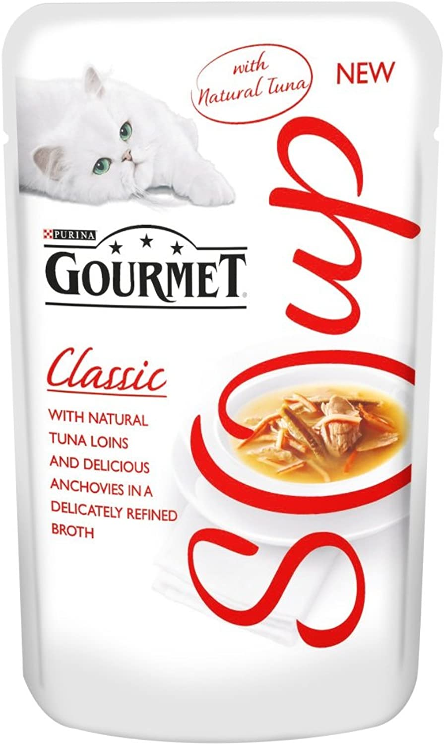 Gourmet Classic Soup with Tuna and Anchovies, 40 g