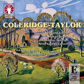 Coleridge-Taylor: Sonata in D Minor - African Dances - Hiawathan Sketches - Petite Suite de Concert