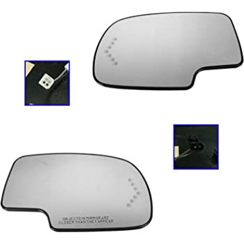 Genuine GM Parts 88944392 Passenger Side Mirror Glass Outside Rear View