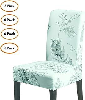 Amazon.es: fundas sillas comedor respaldo redondo