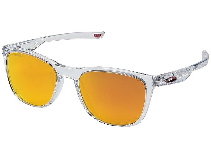 Oakley Trillbe X (Polished Clear/Prizm Ruby) Sport Sunglasses
