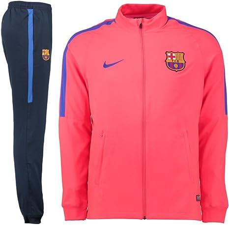 estación de televisión Asombro Desalentar  NIKE FCB M NK Dry TRK Suit SQD W - Chándal FC Barcelona para Hombre:  Amazon.es: Ropa y accesorios